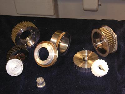 Custom Timing Pulleys And Custom Gear Belt Pulleys